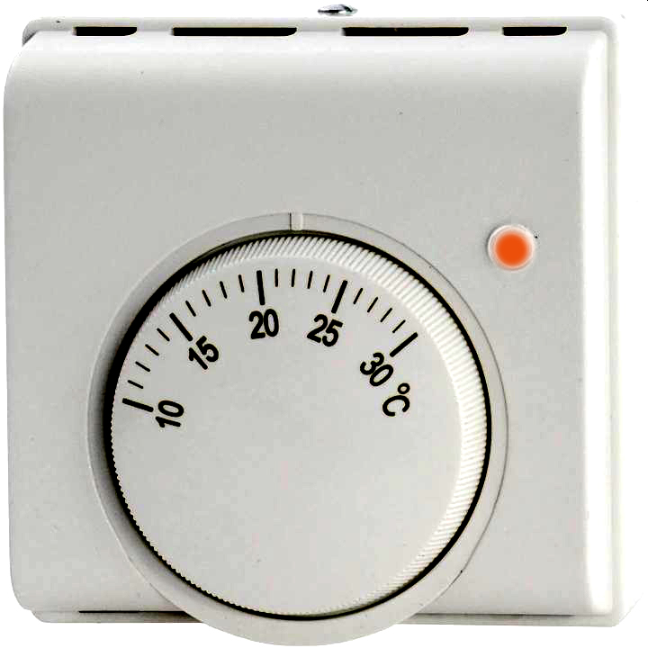 Termostat regulator temperatury NO NC 230V z diodą