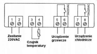 STC-1000 REGULATOR TEMPERATURY TERMOSTAT STEROWNIK