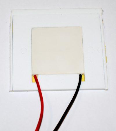 Izolacja cieplna ogniwo Peltiera DOPASOWANA + KLEJ
