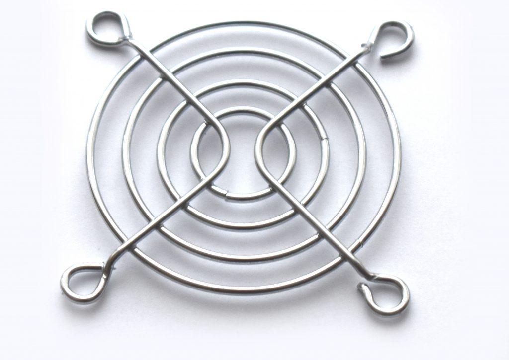 Osłona kratka grill wentylatora 50x50 metalowa