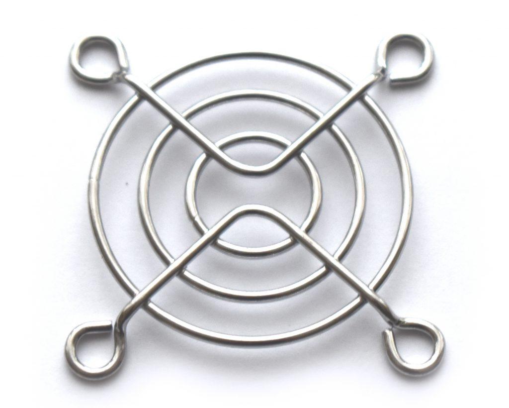 Osłona kratka grill wentylatora 40x40 metalowa