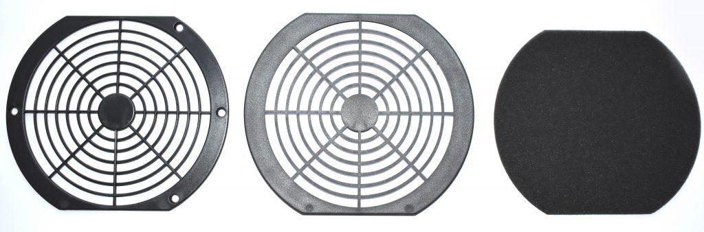 Osłona kratka wentylatora 140x140 przeciwkurzowa ABS